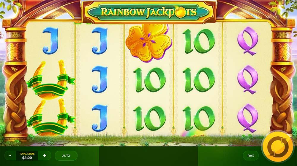 Rainbow Jackpots - Base Game