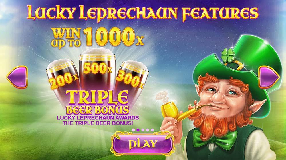 Rainbow Jackpots - Triple Beer Bonus