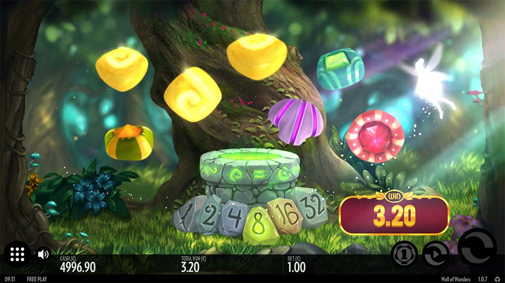 Well of Wonders Slot - Fairy Feature