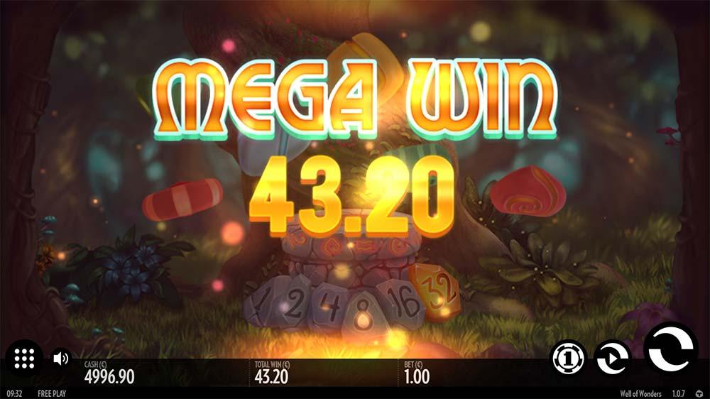 Well of Wonders Slot - Mega Win