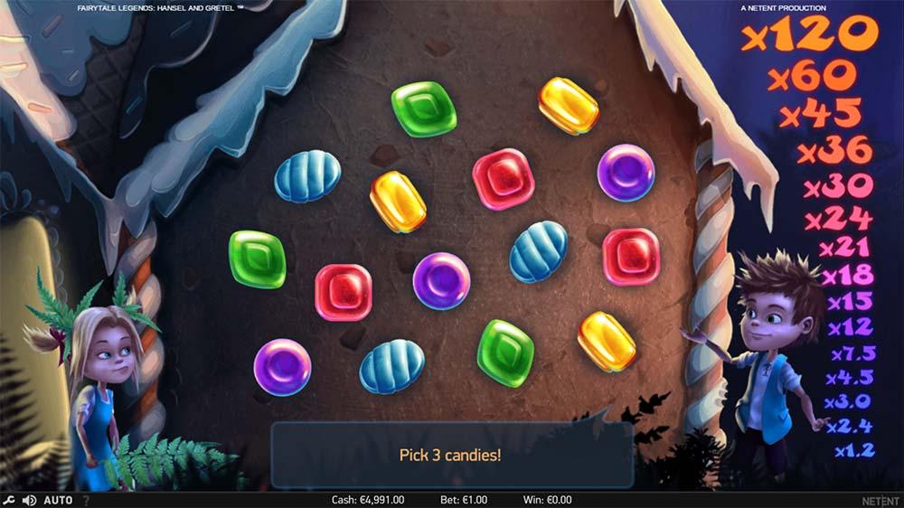Fairytale Legends - Hansel & Gretel Slot - Picking Round
