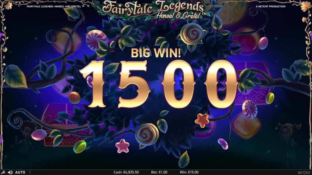 Fairytale Legends - Hansel & Gretel Slot - Big Win