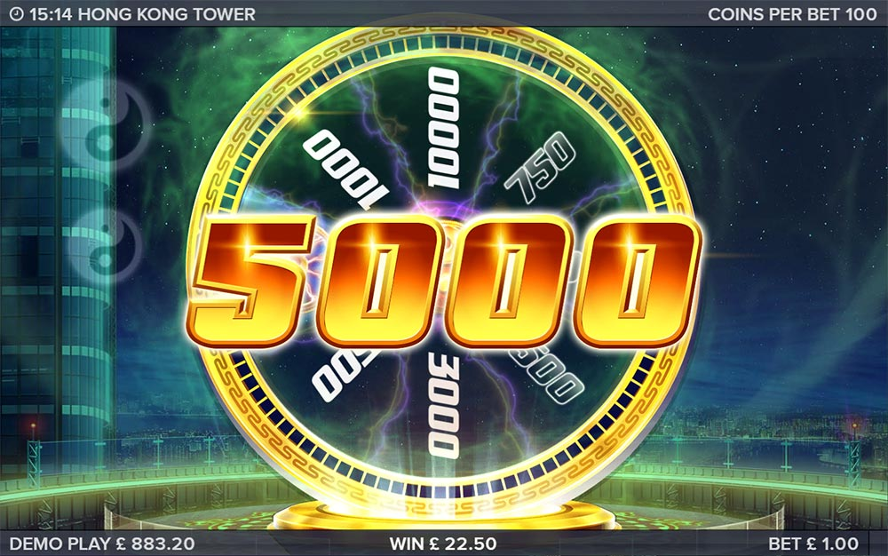 Hong Kong Tower Slot - 2nd Bonus Wheel
