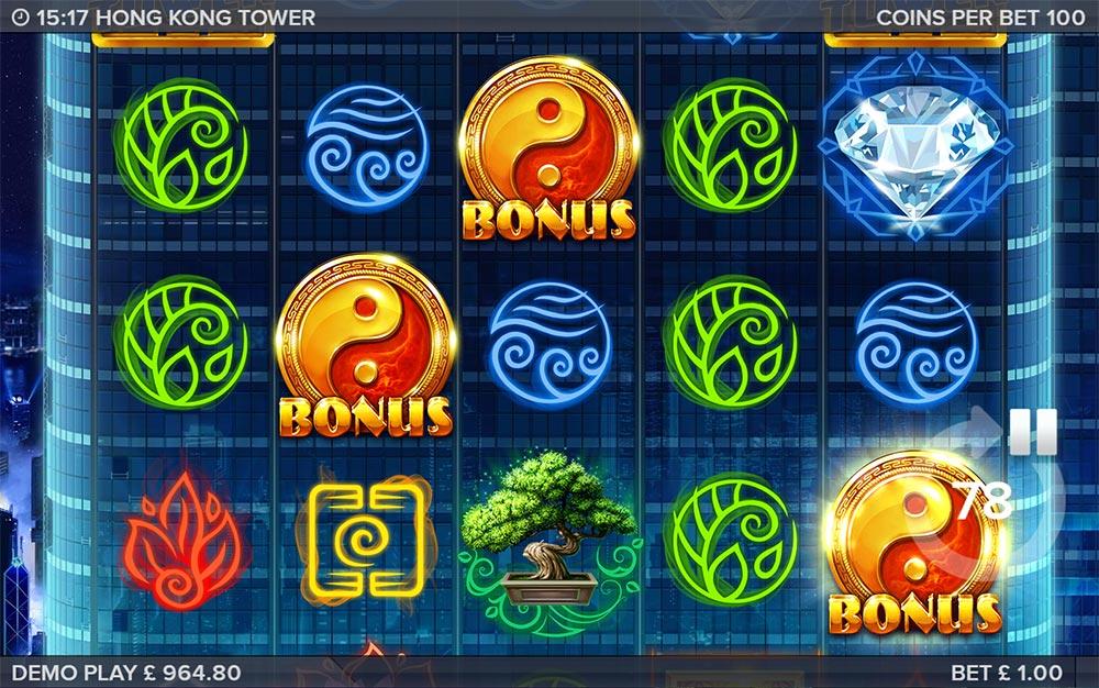 Hong Kong Tower Slot - Bonus Trigger