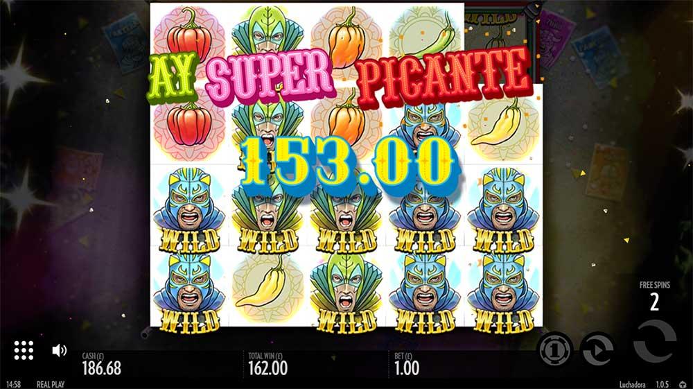 Luchadora Slot - Super Big Win