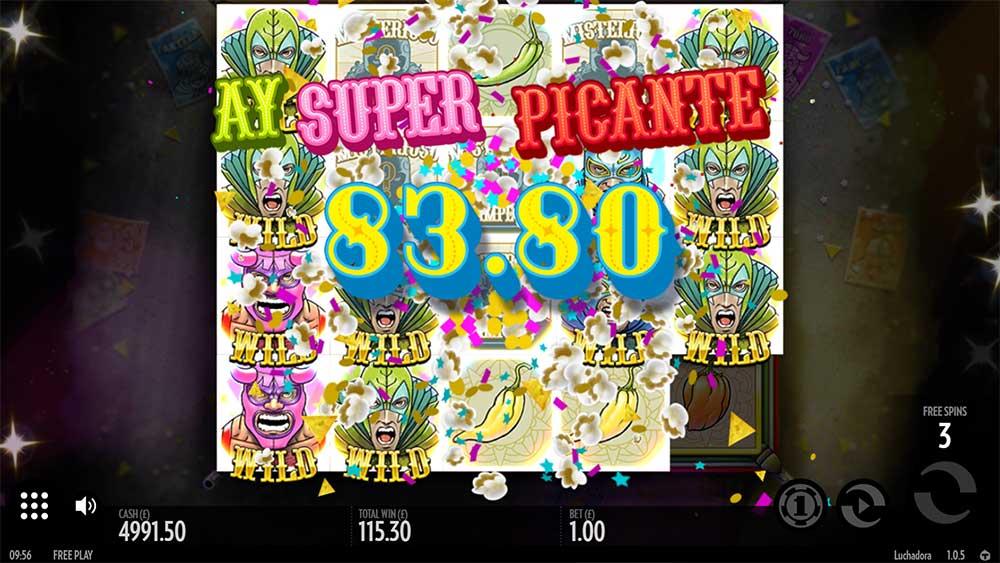 Luchadora Slot - Big Win - Super Picante