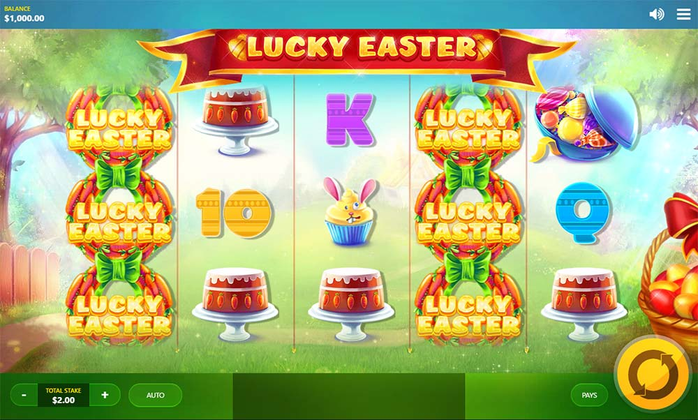 Lucky Easter Slot - Base Game