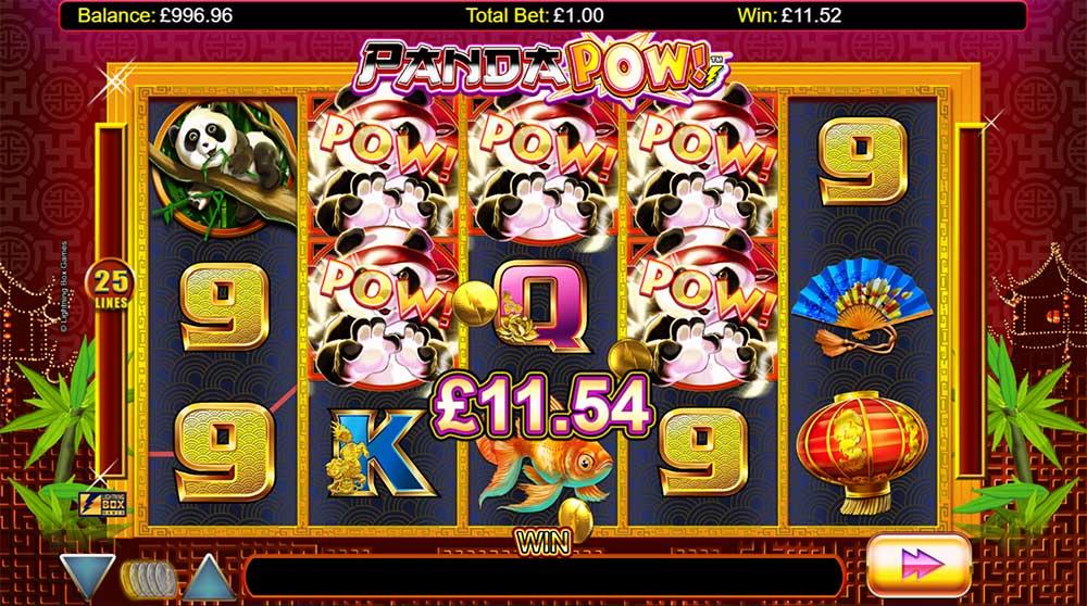 Panda Pow Slot - Bonus Trigger