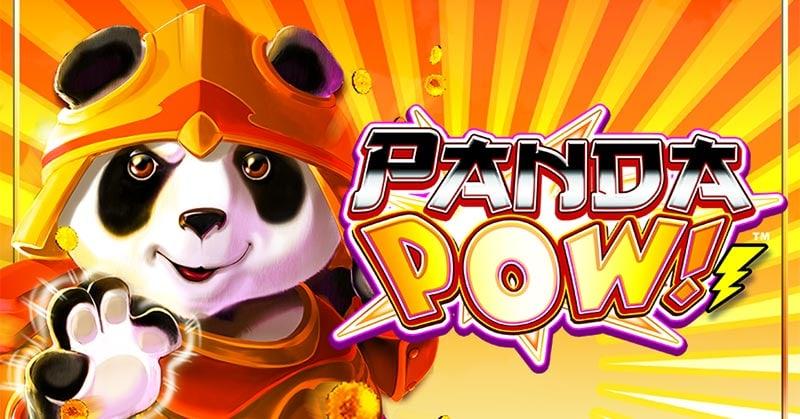 Panda Pow Slot Logo