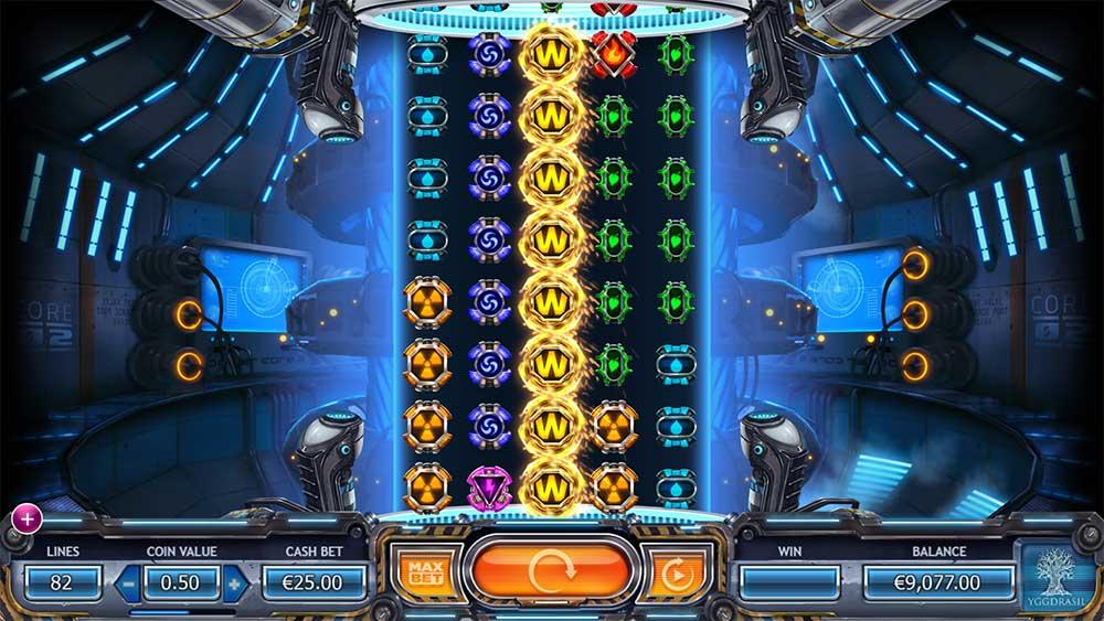 Power Plant Slot - Re-Spin Bonus Trigger