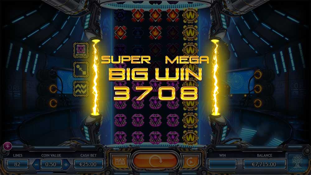 Power Plant Slot - Super Mega Big Win