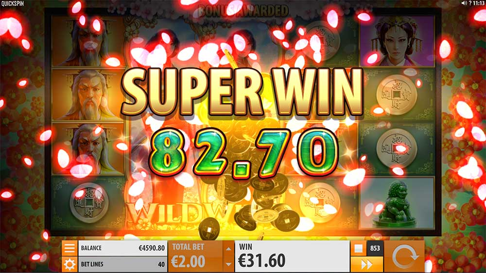 Sakura Fortune Slot - Super Big Win