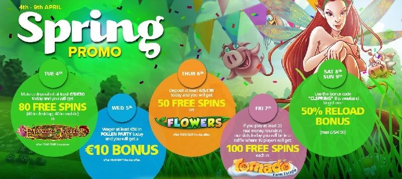 Spring Promo CasinoLuck