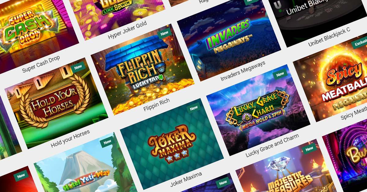 Online Slots at Unibet Casino