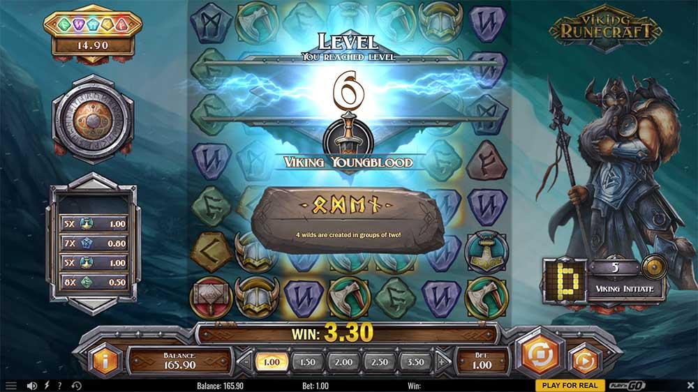 Viking Runecraft Slot - Level Up