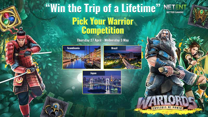 Warlords Slot Tournament Prizes