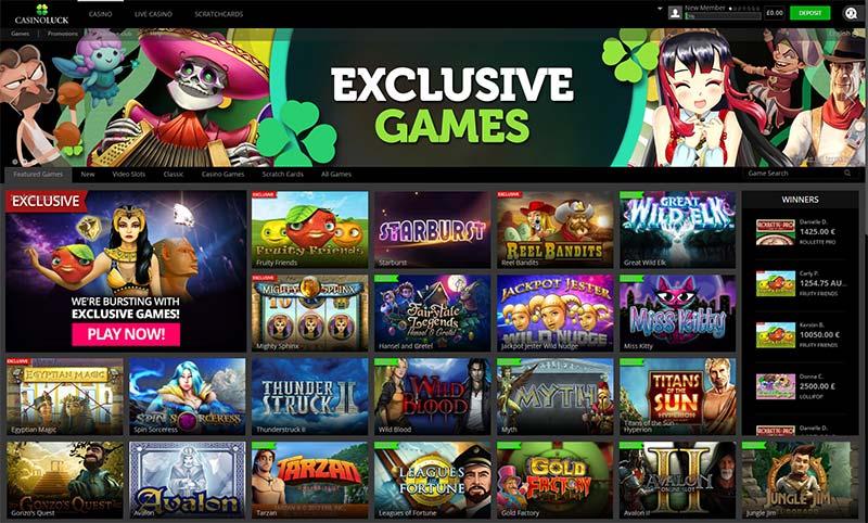 CasinoLuck Updated for 2017