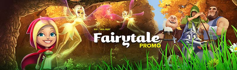 CasinoLuck Fairytale Promotions 2017