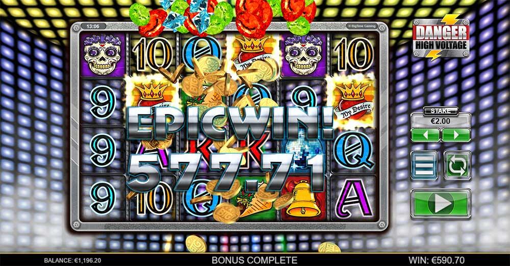 Danger High Voltage Slot - Epic Win