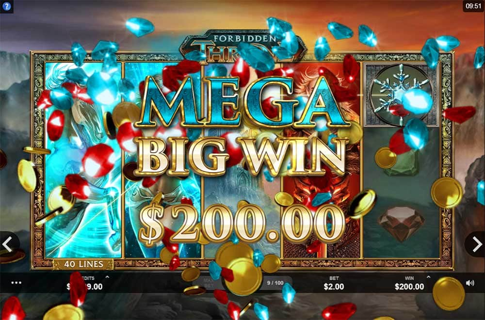 Forbidden Throne Slot - Mega Big Win