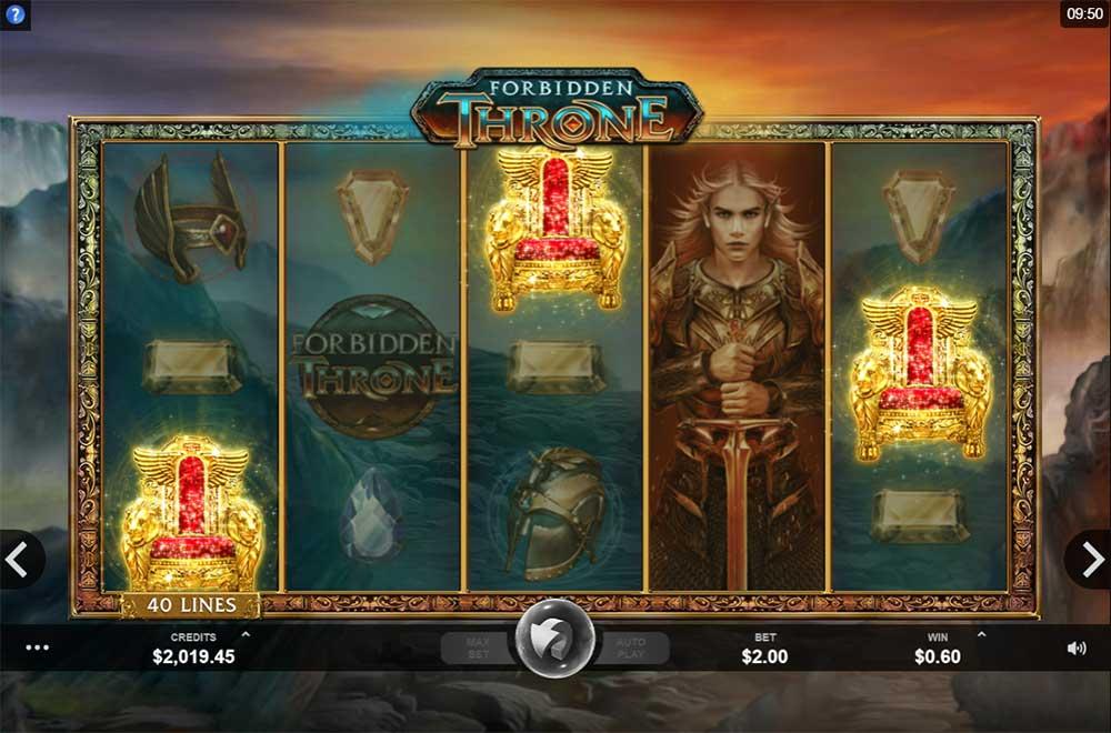 Forbidden Throne Slot - Bonus Trigger