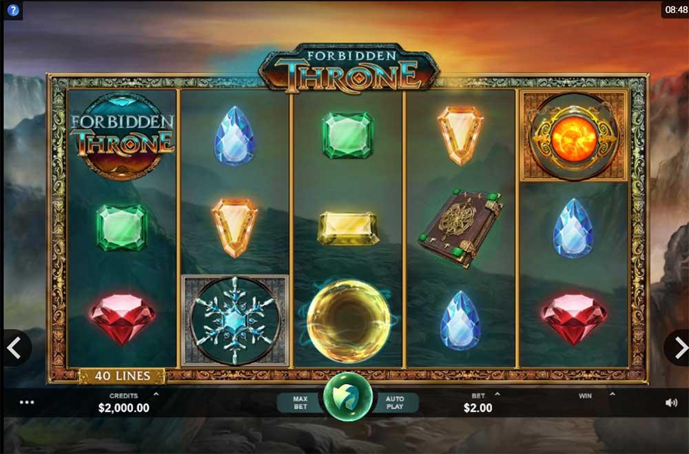 Forbidden Throne Slot - Base Game