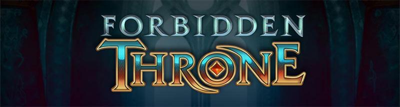 Forbidden Throne Slot Logo