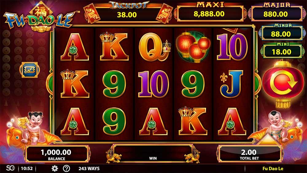 Fu Dao Le Slot - Base Game