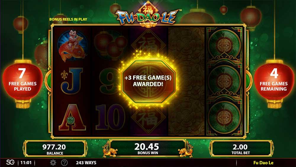 Fu Dao Le Slot - Extra Free Spins