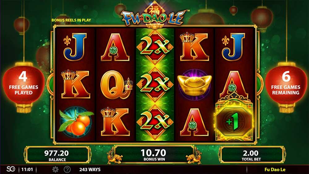 Fu Dao Le Slot - Multipliers