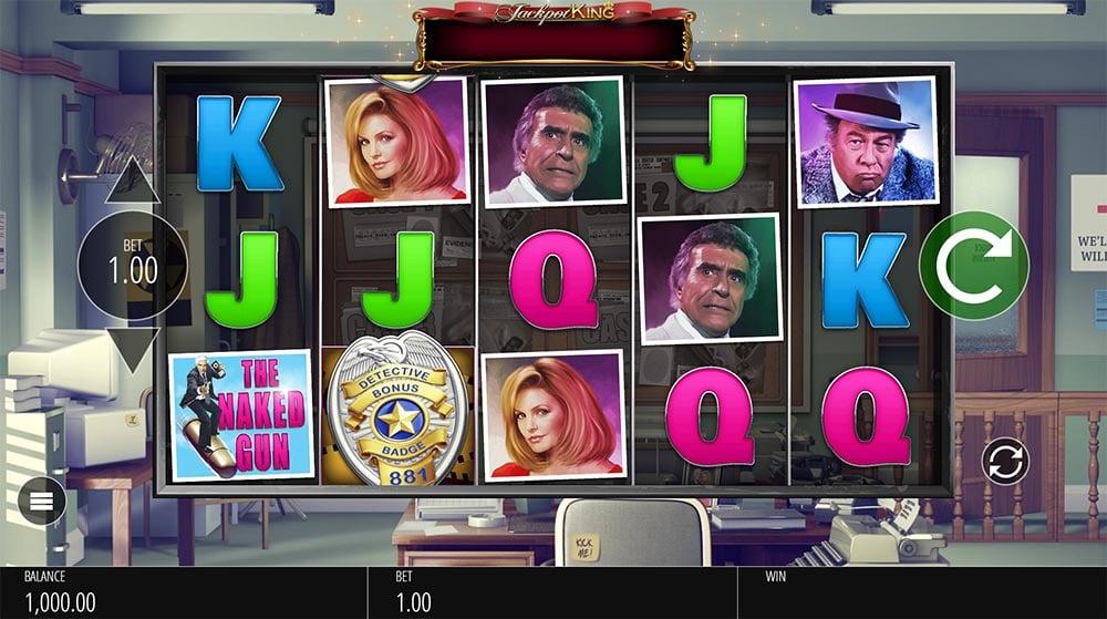 Naked Gun Slot - Base Game