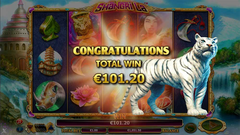 Shangri La Slot - Bonus End