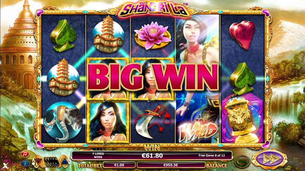 Shangri La Slot - Big Win