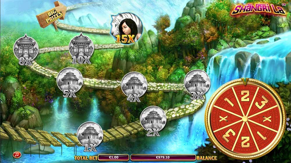 Shangri La Slot - Trail Bonus