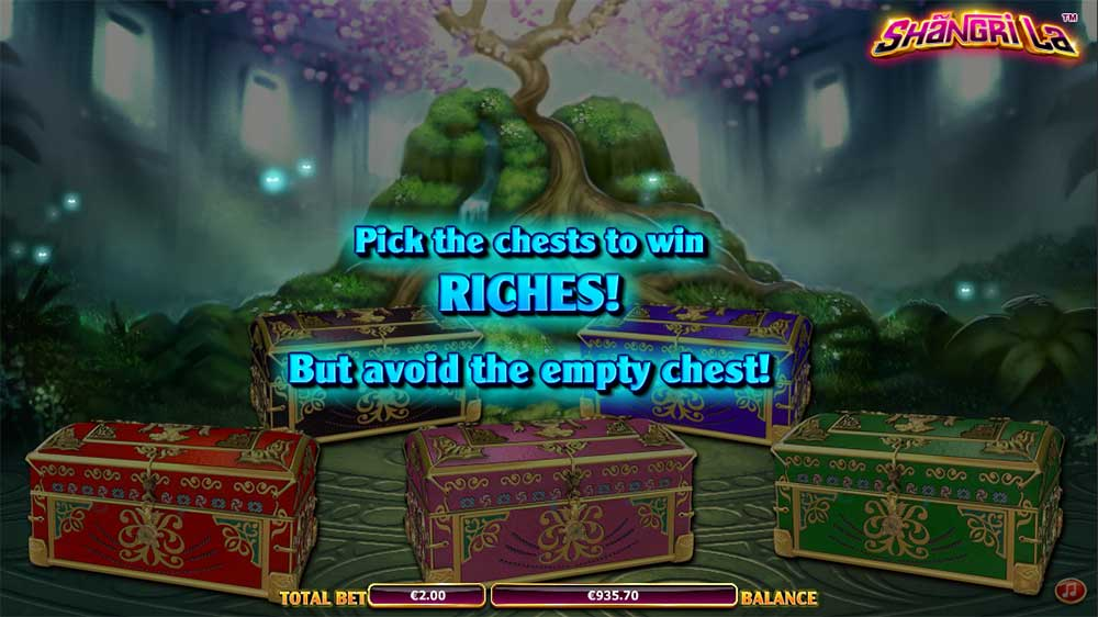 Shangri La Slot - Picking Round
