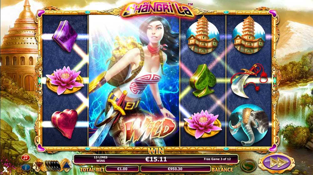 Shangri La Slot - Wild Reels