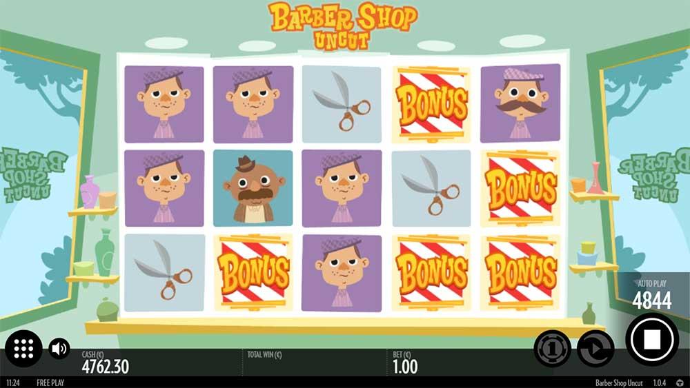 Barber Shop Uncut Slot - Bonus Trigger