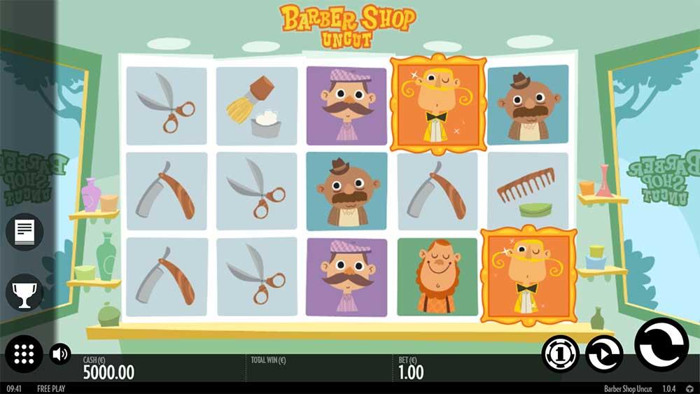 Barber Shop Uncut Slot - Base Game