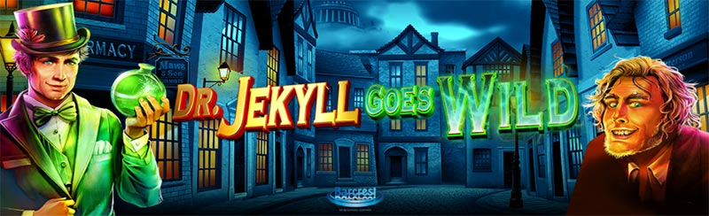 Dr. Jekyll Goes Wild Slot Logo