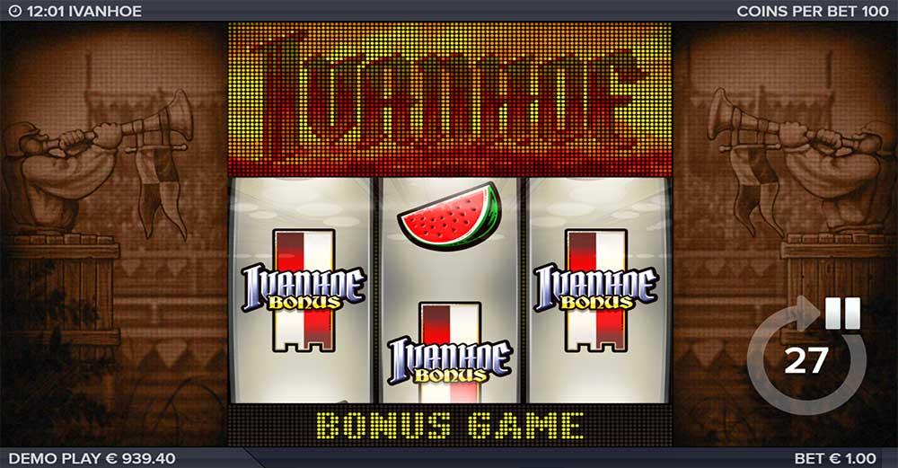Ivanhoe Slot - Bonus Trigger
