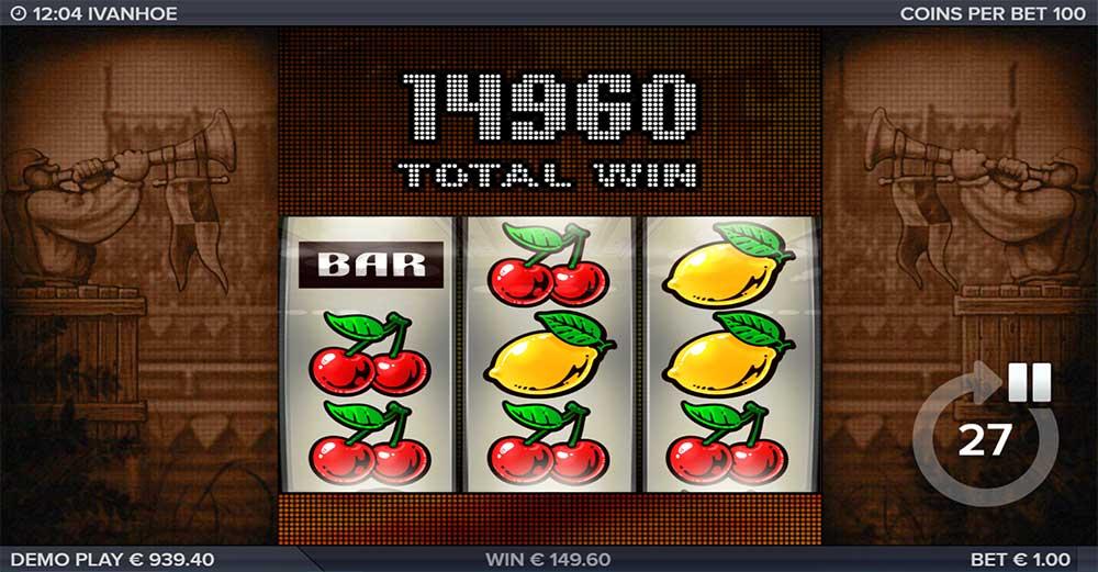 Ivanhoe Slot - Bonus End