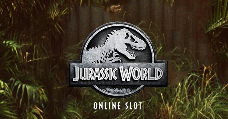 Jurassic World Slot Logo
