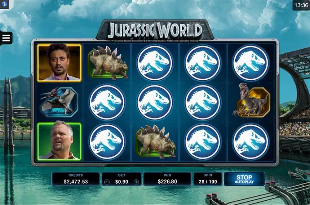 Jurassic World Slot - Mega Big Win