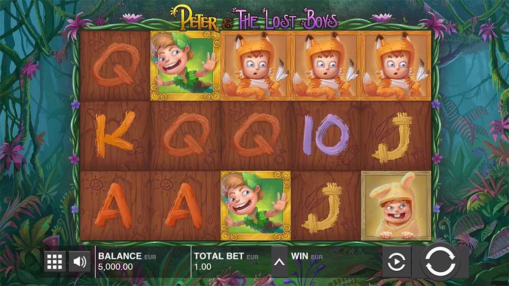Push Gaming Slots- Peter and the Lost Boys