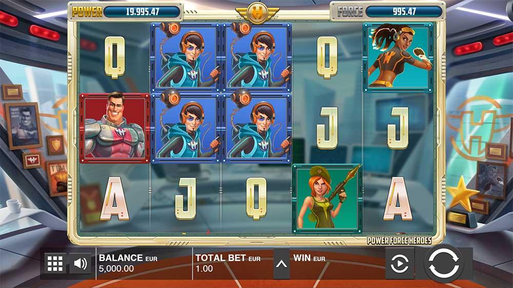 Push Gaming Slots- Power Force Heroes