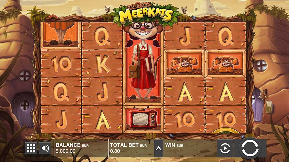 Push Gaming Slots- Meet the Meerkats