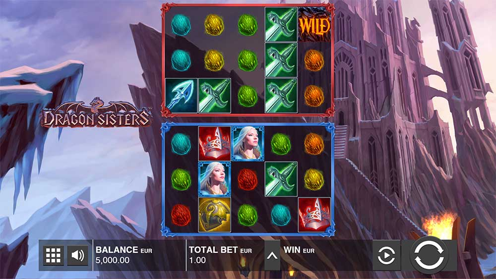 Push Gaming Slots- Dragon Sisters