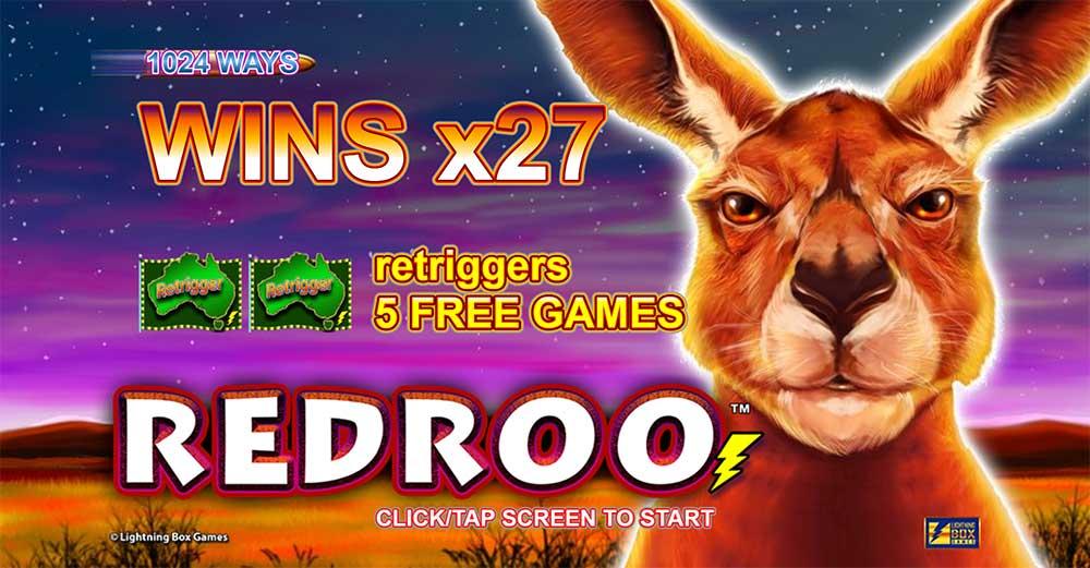Redroo Slot - Intro Screen