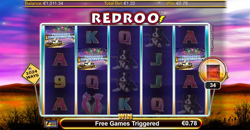 Redroo Slot - Bonus Trigger