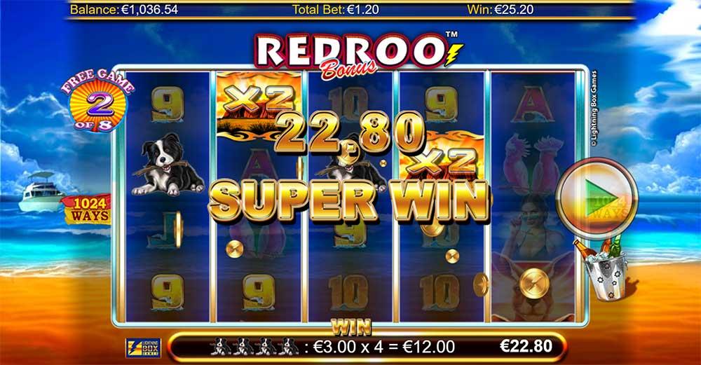 Redroo Slot - Super Win